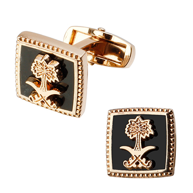 Enamel Cuff Links Cuff Buttons Present for Man