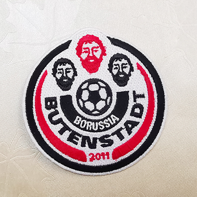 Football cool Embroidery patches for jeans