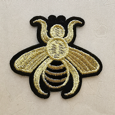 Gold Embroidery patches