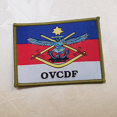 Woven patches military