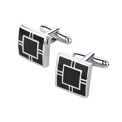 Enamel Shirt Cufflinks Cuff Buttons Tie Clips Jewelry Gift
