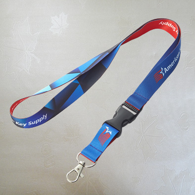 Custom Heat Transfer Printing Lanyard