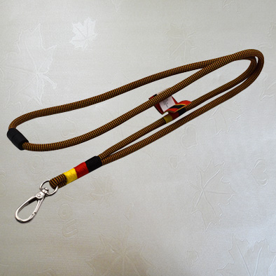 Swivel Snap Hook Polyester Cord Lanyard